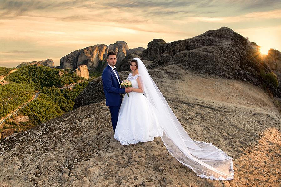 Φωτογράφιση γάμου next day Μετέωρα