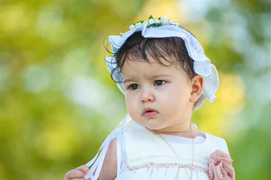 Φωτογράφος βάπτισης Λάρισα πορτρετο κορίτσι